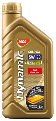 MOL DYNAMIC GOLD DX 5W-30